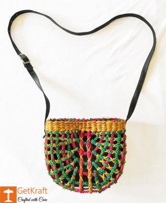 Natural Straw Handbag BG019(#156)-gallery-0