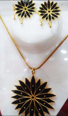 Assamese Kala moni Thuka Phool Jewelry for women(#1562)-gallery-0