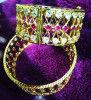 Stone studded Golden Kharu for Women(#1568) - Getkraft.com