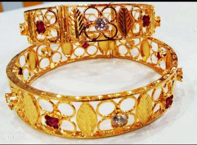 Assamese Jewellery Kharu - Bangles For Women(#1570)-gallery-0