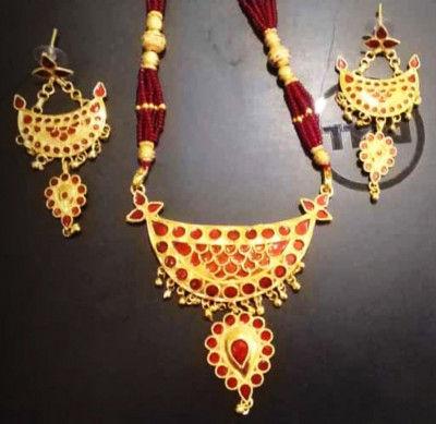 Jonbiri Doogdoogi Necklace Set for Women(#1573)-gallery-0