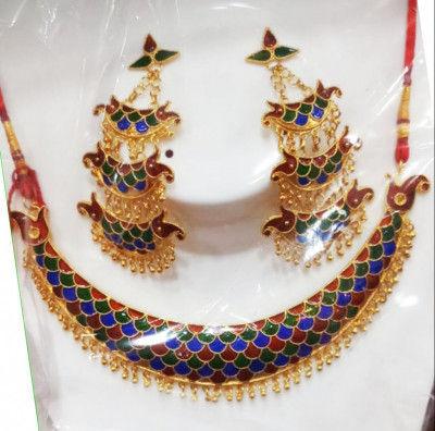 Designer Jonbiri Jewellery set for Women(#1579)-gallery-0