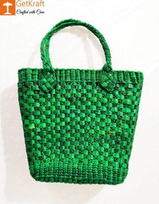 Natural Straw Colored Handbag BG025(#158)-gallery-0