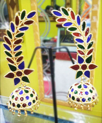 Intricate beautiful traditional Earrings for Women(#1595)-gallery-0