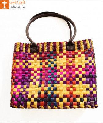 Natural Straw Handbag BG029(#160)-gallery-0