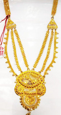 Kesa Xun(Raw And Pure Gold) Necklace Jewellery for Women(#1600)-gallery-0