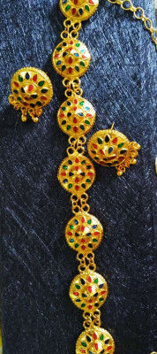Japi Golpata Gold plated jewellery for Women(#1604)-gallery-0
