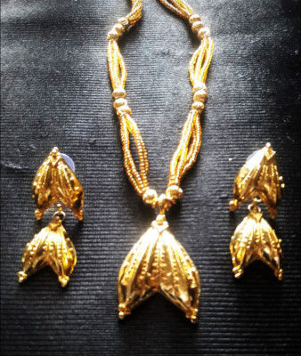 Gorgeous Gold plated Thoka Sun Jewellery For Women(#1608)-gallery-0