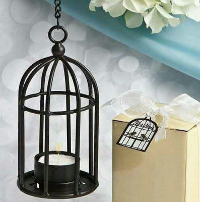 Metal Bird Cage Tealight Candle Holder(#1687)-gallery-0