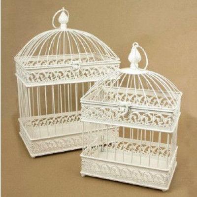 Rectangular base Elegant Bird cage(#1727)-gallery-0
