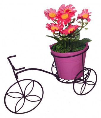 Tricycle Plant Stand Flower Pot Holder- For Home Decor Garden Patio(#1746)-gallery-0