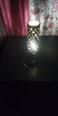 Hand Made eco-friendly Bamboo Table Lamp(#1747)-gallery-0