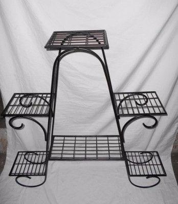 Garden Decor Planter Stand Planter Rack(#1755)-gallery-0