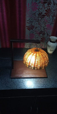 HAND MADE ECO FRIENDLY TABLE LAMP(#1777)-gallery-0