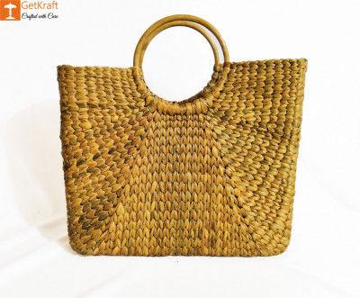 Natural Straw Handbag BG051(#178)-gallery-0