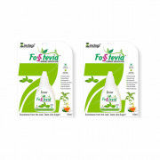 Zindagi Stevia Liquid Drops(FosStevia) - 100 Natural Sugar-Free - Stevia Tabletop Sweetener (Pack of 2)(#1788) - Getkraft.com