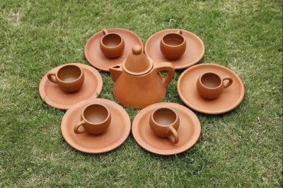 Conical Tea Set(#1859)-gallery-0