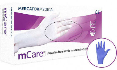 MCare Nitrile Powder Free Gloves(#1863)-gallery-0