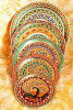 Stainless Steel Multicolor Designer Multipurpose Meenakari Pooja Thali Wholesale(#1873) - Getkraft.com