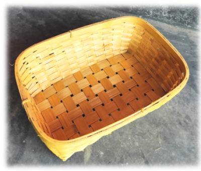 Natural Bamboo Tray BTN1 set of 100(#1892)-gallery-0