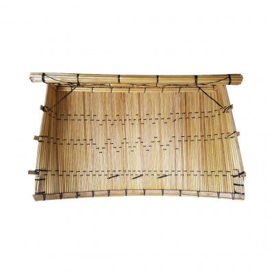 Avnii Organics Chhajj Rectangle Shaped Winnowing Basket Useful in Kitchen Especially Design for Chhath Puja Multipurpose(#1902)-gallery-0