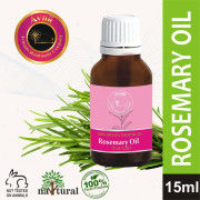 Avnii Organics Rosemary Essential Oil For Hair Growth Skin and Body 100 Pure and Natural Therapeutic Grade(15 ml)(#1913) - Getkraft.com