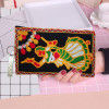 Avnii Organics Multi color Mobile Pouch (Mobile Cover) Rajasthani Style beautiful hand crafted Velvet with Mirror work cover for Women(#1923)-thumb-3