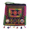 Avnii Organics Rajasthani Gujrati Jaipuri Embroidery Mirror work slings bags for women girls(#1929)-thumb-0