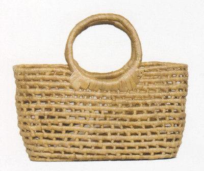 Natural Straw Trendy Picnic Bag(#194)-gallery-0