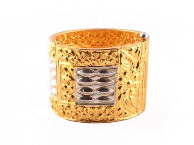 Assamese Gold Plated Jewellery Bangle Gam kharu(#202)-gallery-0