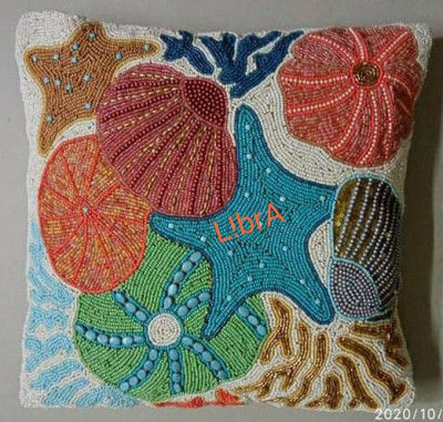 beaded cushion covers(#2043)-gallery-0