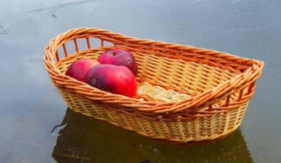 Wicker Fruit basket(#2051)-gallery-0