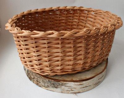 Wicker Small Fruit Basket(#2056)-gallery-0