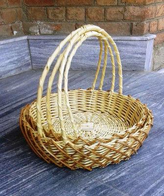 Wicker Flower Basket set of three(#2062)-gallery-0