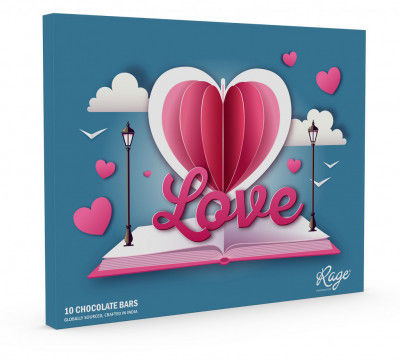 Rage Chocolatier Valentines Day Special Love Is in the Air Assorted Chocolate Gift Box 2(#2067)-gallery-0