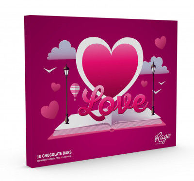 Rage Chocolatier Valentines Day Special Love Is in the Air Assorted Chocolate Gift Box 3(#2068)-gallery-0