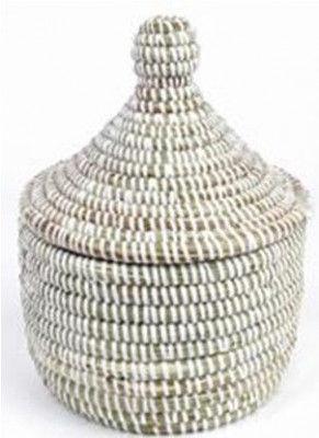 Sabai Grass Storage Basket Small(#2075)-gallery-0