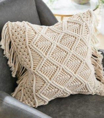 Macrame cushion cover Style 2 (Pack of 5)(#2081)-gallery-0