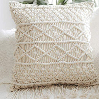 Macrame cushion cover Style 20( Pack of 5)(#2107)-gallery-0