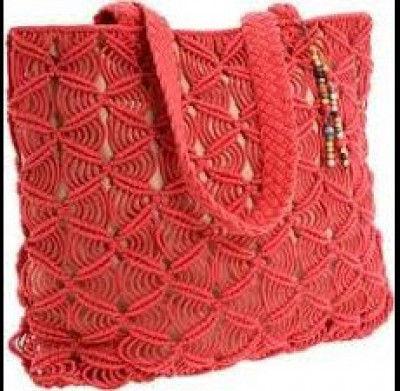 Macrame Ladies Bag Style 13(#2124)-gallery-0
