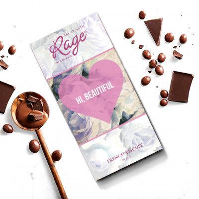 Rage Chocolatier Hi Beautiful French Biscuit - 90 Grams(#2149)-gallery-0