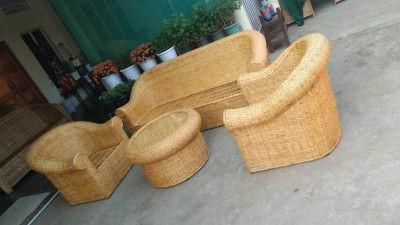 Cane Sofa set Design 12(#2158)-gallery-0