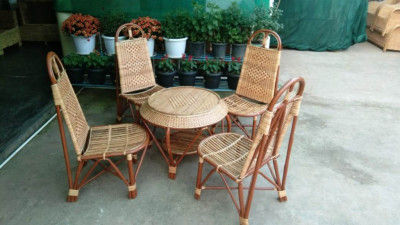 Cane Garden Chair set Design 13(#2159)-gallery-0
