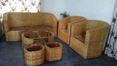 Cane Sofa set Design 21(#2164)-gallery-0