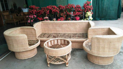 Cane Designer Sofa set design 27(#2169)-gallery-0