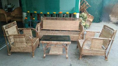 Cane king size sofa set design 28(#2170)-gallery-0
