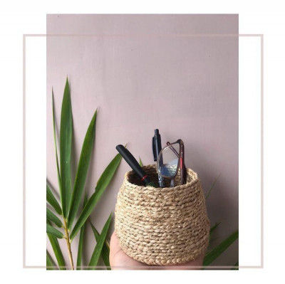 Banana fiber planter Style 10(#2179)-gallery-0