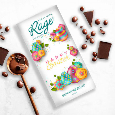 Rage Easter Special Signature Blend Chocolate Bar 90 gm(#2200)-gallery-0
