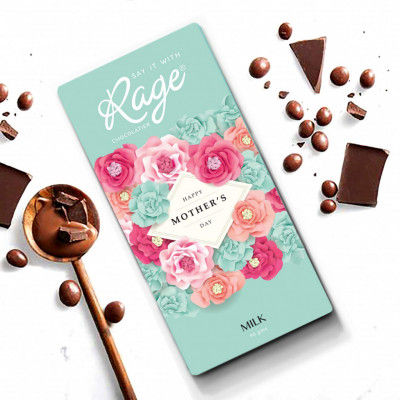 Rage Mothers Day Special Milk Chocolate Bar 90 gm(#2201)-gallery-0