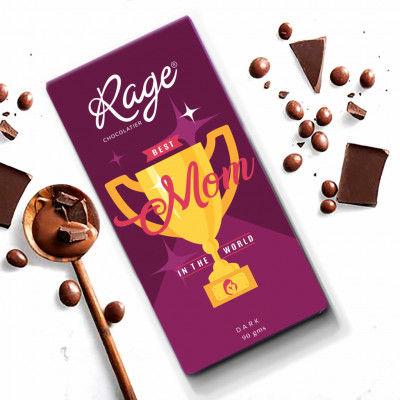 Rage Best Mom Dark Chocolate Bar 90 gm(#2202)-gallery-0
